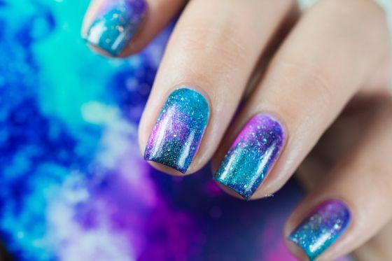 "Manucure ""Galaxy"" par iLaeti"