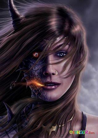 Dragon Bloods Half Human And Half Dragon In 2019 Female
