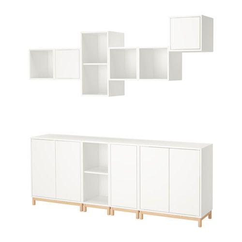 Sisustusideoita Huonekaluja Ja Inspiraatiota Eket Ikea Eket Ikea Shelving Unit