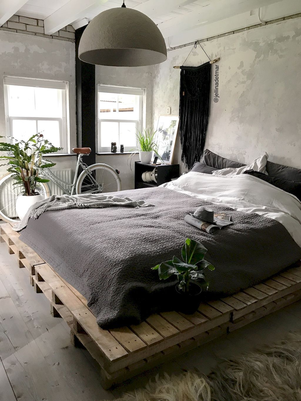 50 Stunning Vintage Apartment Bedroom Decor Ideas And Remodel ...
