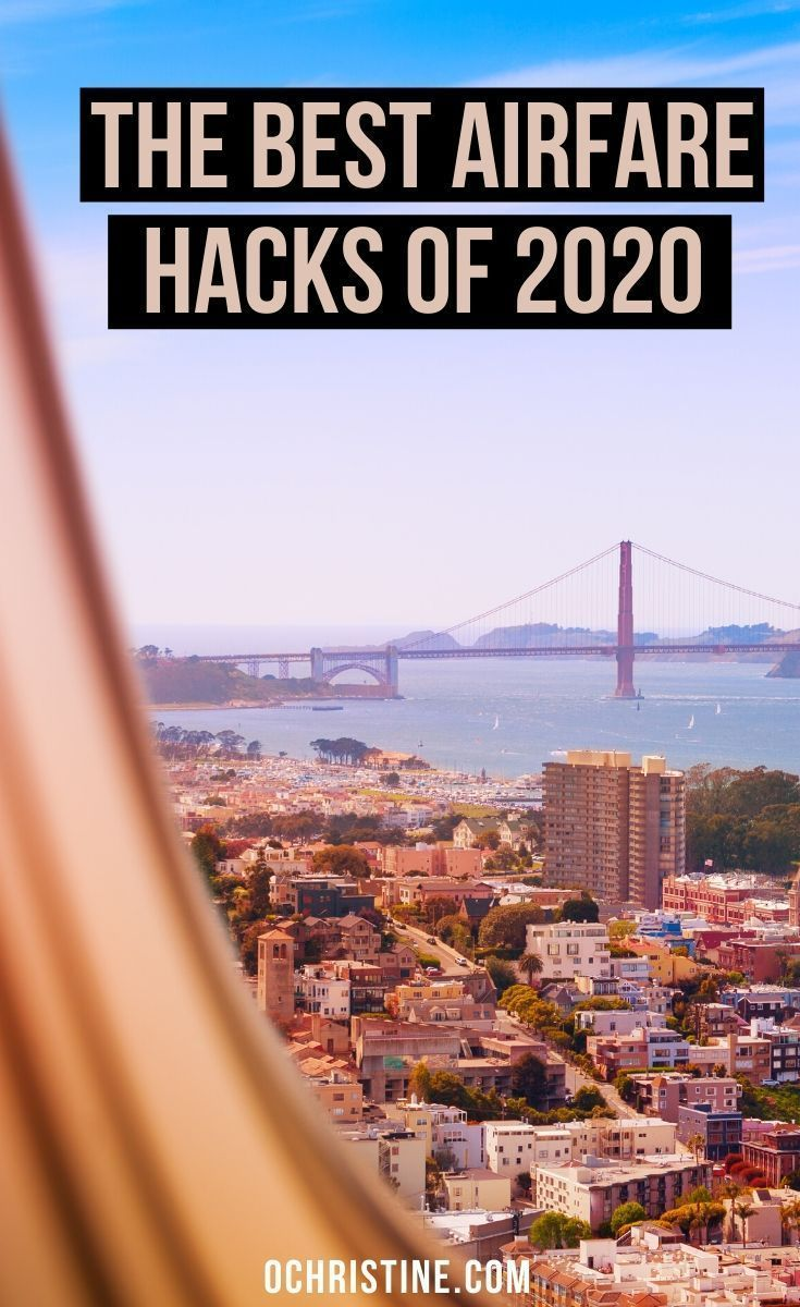 The Best Airfare Hacks of 2020. Are you always looking for the cheapest flights? Sharing my 24 Airfare Hacks for Finding the Best Fares and Cheap Flight Deals in 2019. I've compiled an epic list of airfare best practices, affordable flight tips, and budget travel advice to help you get great flight deals this year. #cheapflights #travelhack Travel Hacking   Flight Hacking   How to find cheap flights   Best Airfare hacks   Cheap Airfare  