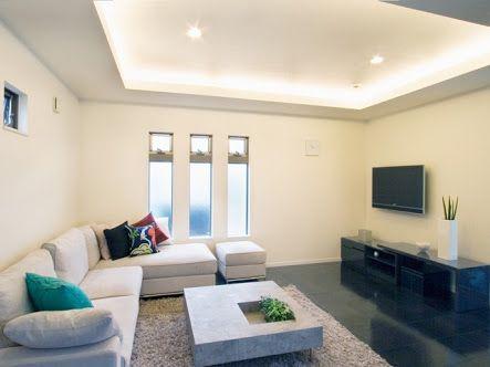 折り上げ天井 デメリット Google 検索 自宅で リビング コーブ照明