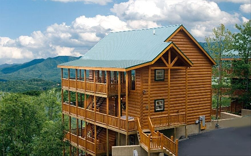 Cabin vacation rental in pigeon forge from Best mountain view cabins in gatlinburg tn