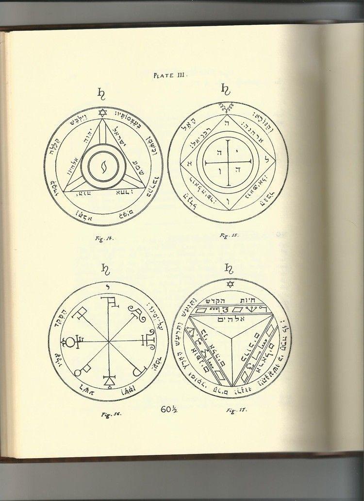 Plate Iii From The Key Of Solomon 1914 J Pinterest Solomon