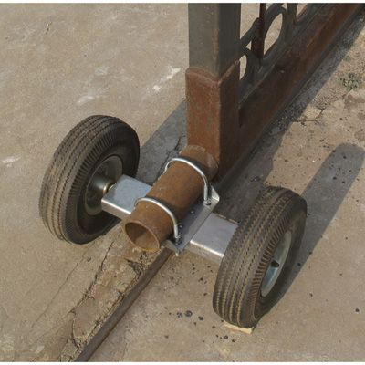 Ironton Dual Gate Wheel For Sliding Gates Live Off The