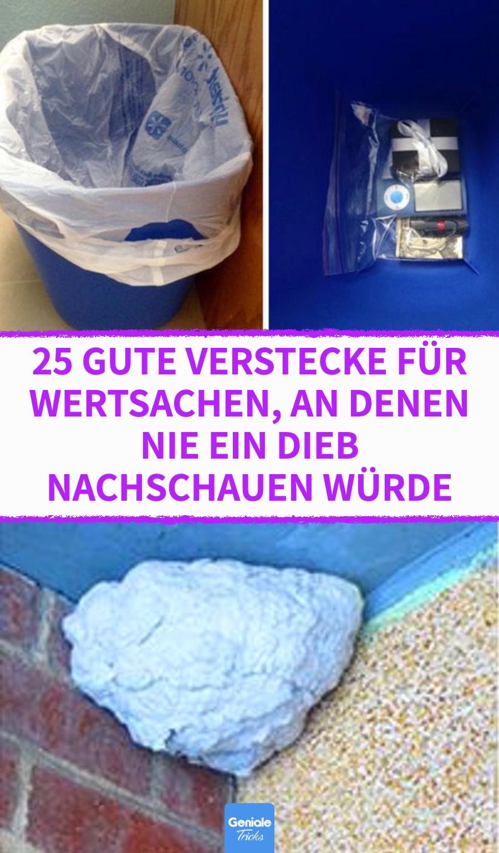 Photo of Die 25 besten Geheimverstecke für Wertsachen.