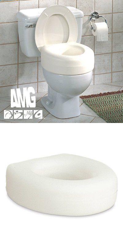 Toilet Seats Aquasense Portable Raised Toilet Seat For Handicap Elderly Bathroom Safety New Buy It Now Only 31 91 Toilet Toilet Seat Bathroom Safety
