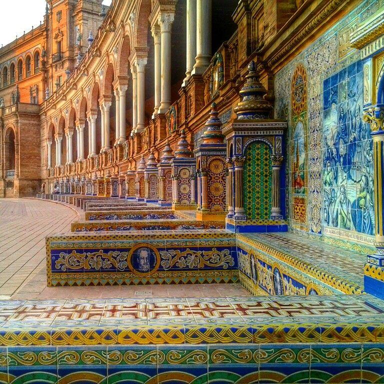 Plaza de España Sevilla, pintamialma