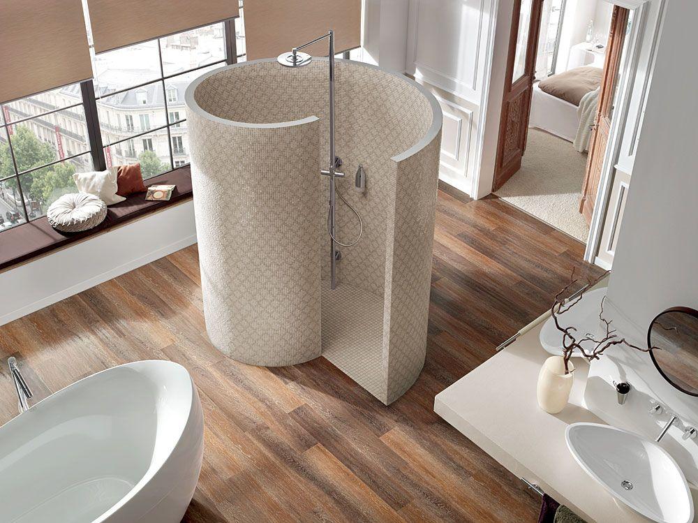 Duschschnecke als Alternative zur Duschkabine Bäder Pinterest - bder mit duschschnecke