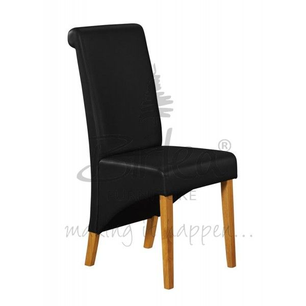 Endearing Black Leather Dining Chairs Sale Dengan Gambar