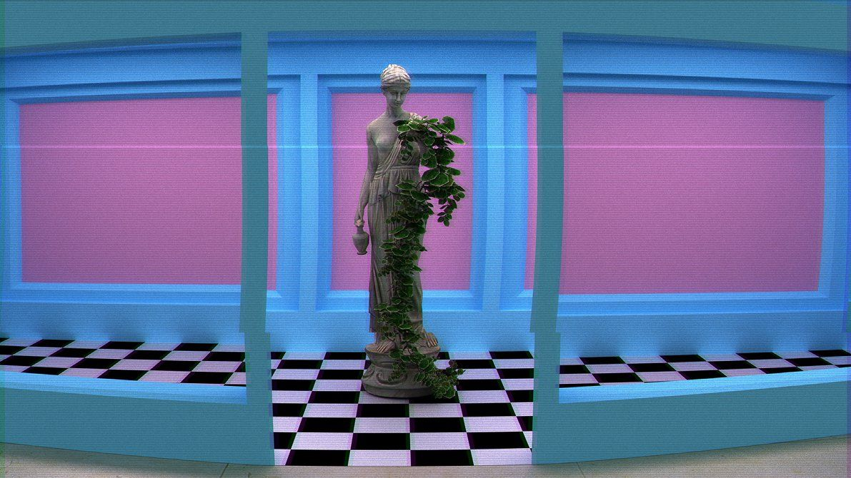 Vaporwave Background By Shorkiedokey Vaporwave Wallpaper Aesthetic Desktop Wallpaper Aesthetic Wallpapers
