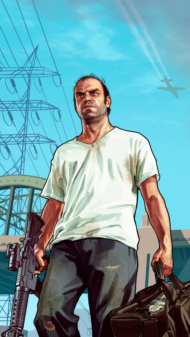 Grand Theft Auto V Wallpaper Playstation Games Ps4 San Andreas Videos Gta