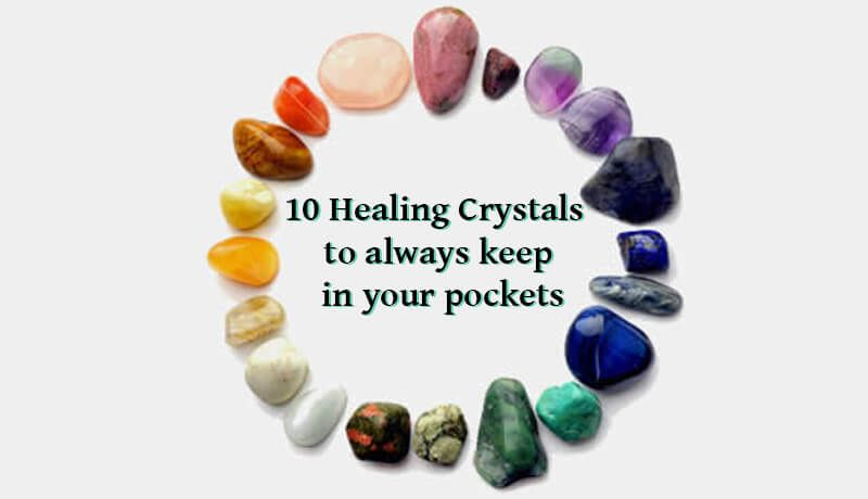 These 10 Healing Crystals have different purposes, due to the energy they contain keep them close in a special pocket, as jewelry or next to your bed/pillow