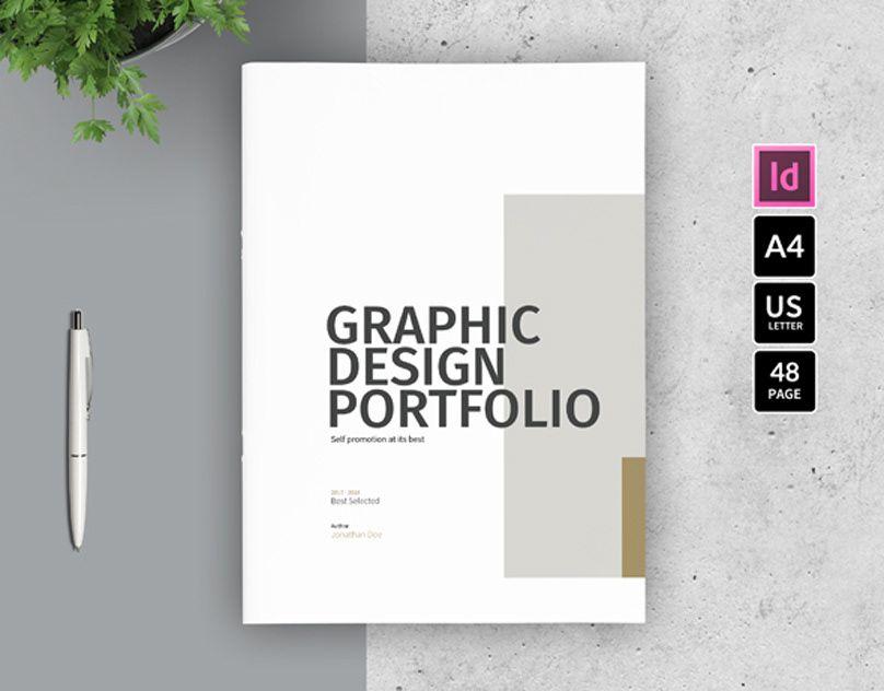 Graphic Design Portfolio Template On Behance Portfolio Design Portfolio Template Design Graphic Designer Portfolio