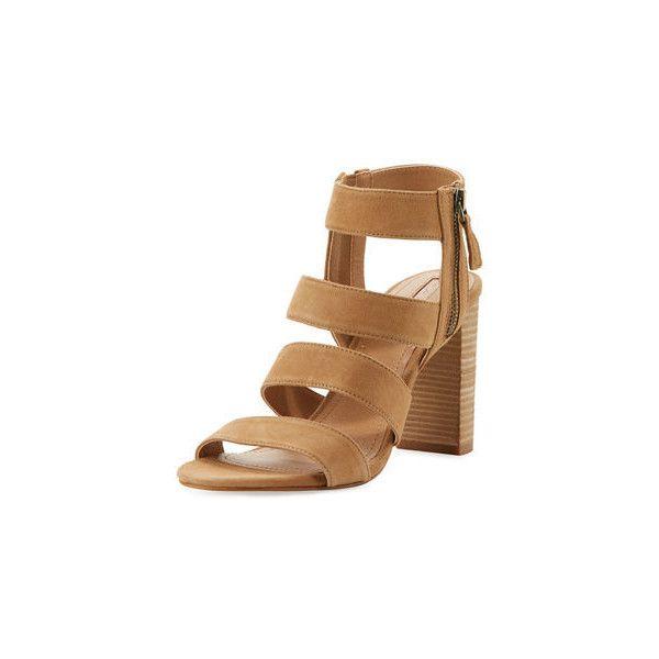 Elie Tahari Suede Cage Sandals outlet high quality wBGxqM8