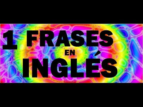 CURSO DE INGLES CON PRONUNCIACION --- VERBOS MAS USADOS EN INGLES - YouTube