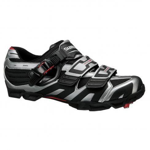 Shimano Shm161 Mountain Bike Shoes Mens Greyblack 47 Click