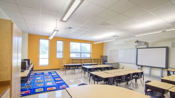 Lighting The Way To Better Education Lighting Content From American School University Classroom Design Classroom Makeover 21st Century Classroom