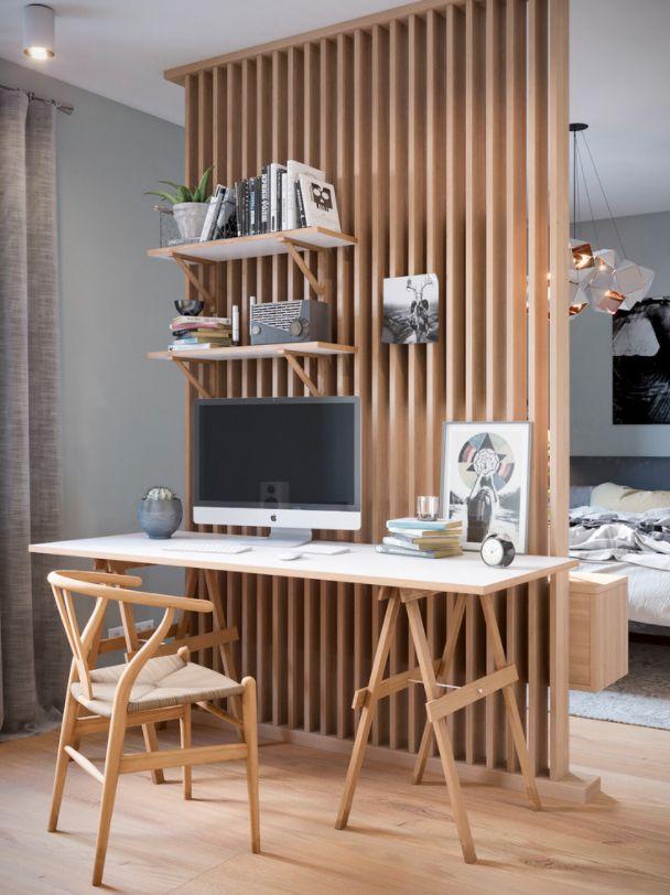inspiration pour un coin bureau pour suspendre les outils dans le bois salon salle manger. Black Bedroom Furniture Sets. Home Design Ideas
