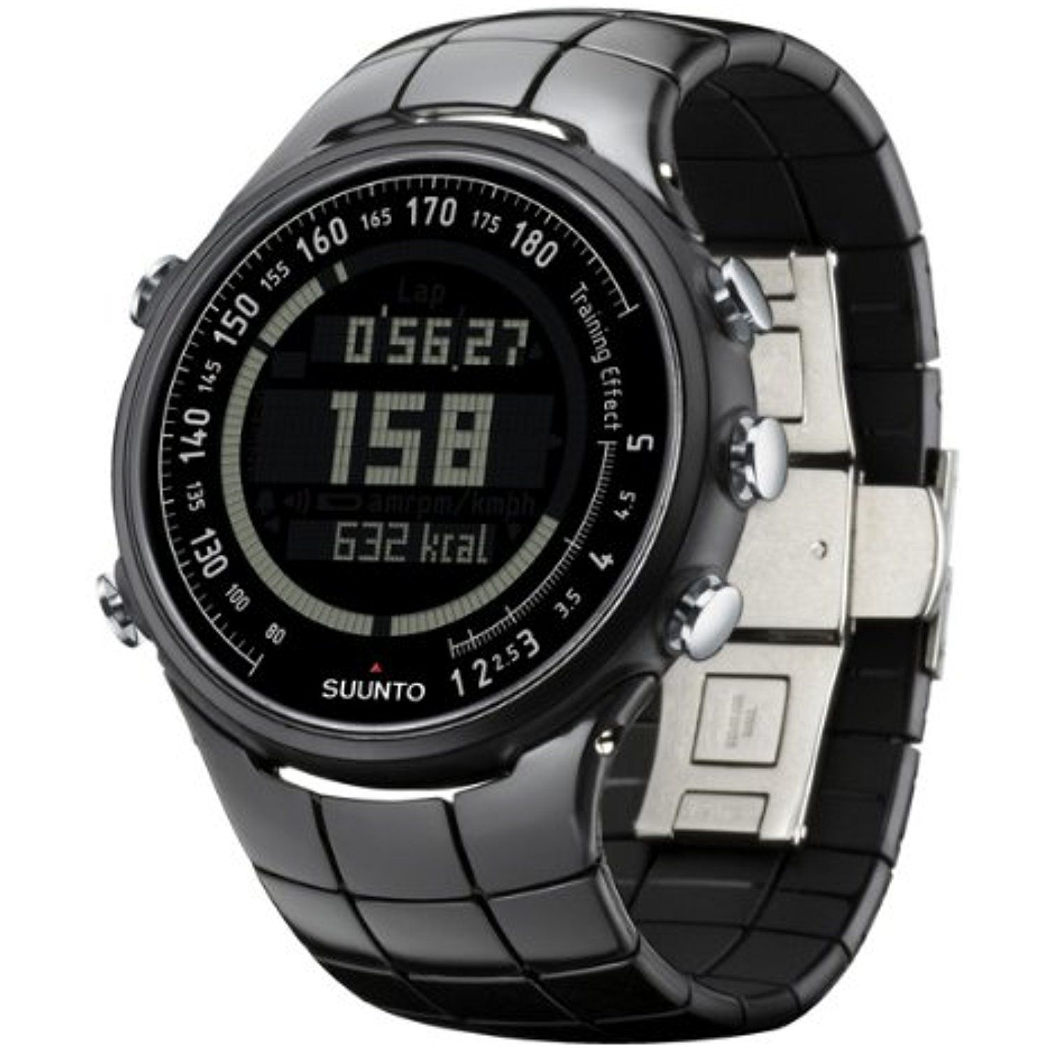 Brand New Polished Suunto T3c Wrist Watch Heart Rate