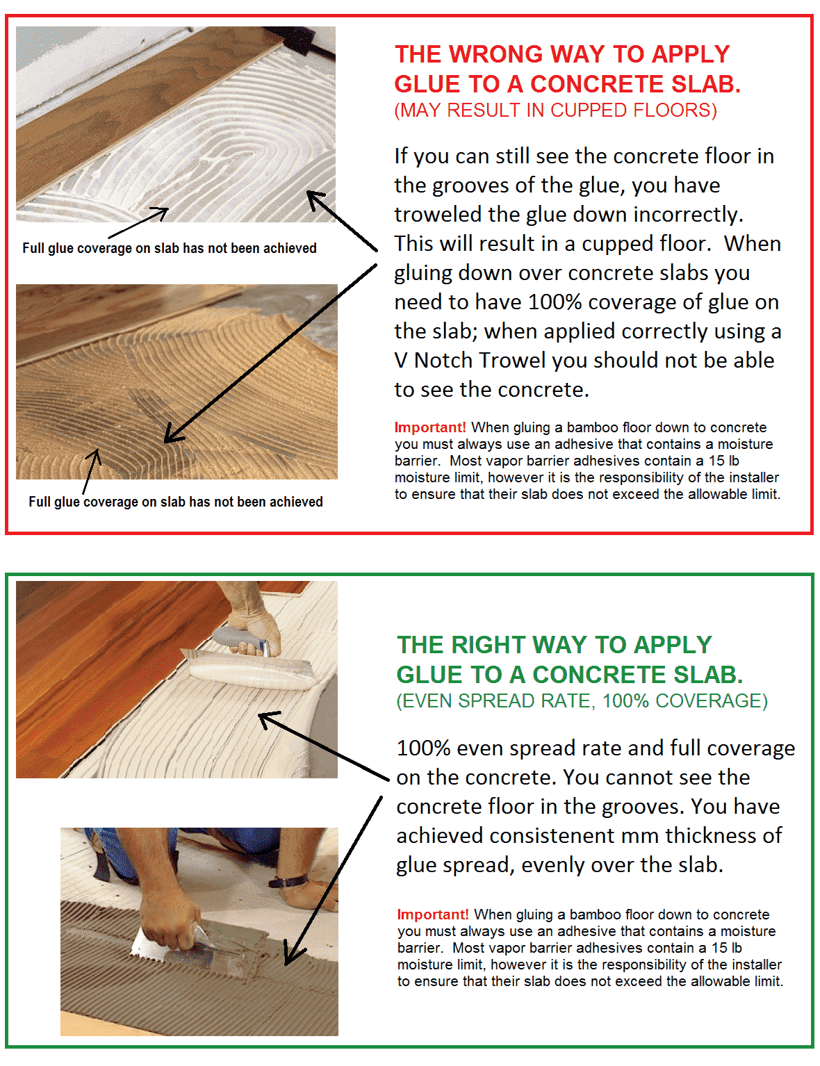 How To Install Bamboo Flooring Over Concrete Ambient Bamboo Solid Wood Bed Frame Wood Floors Flooring