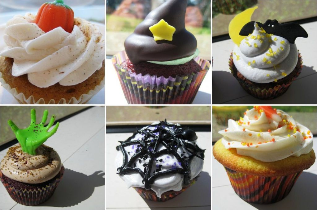 Halloween cupcake jigsaw puzzle in halloween puzzles on