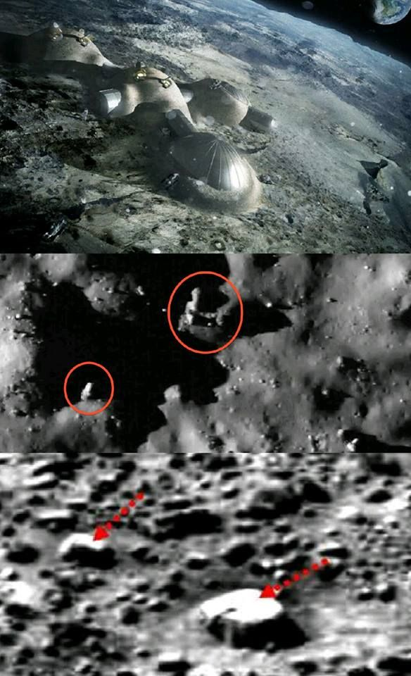 Bases on the Moon built by Non-Earthlings? NASA has clear ...