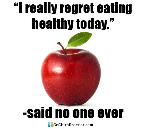 being healthy today