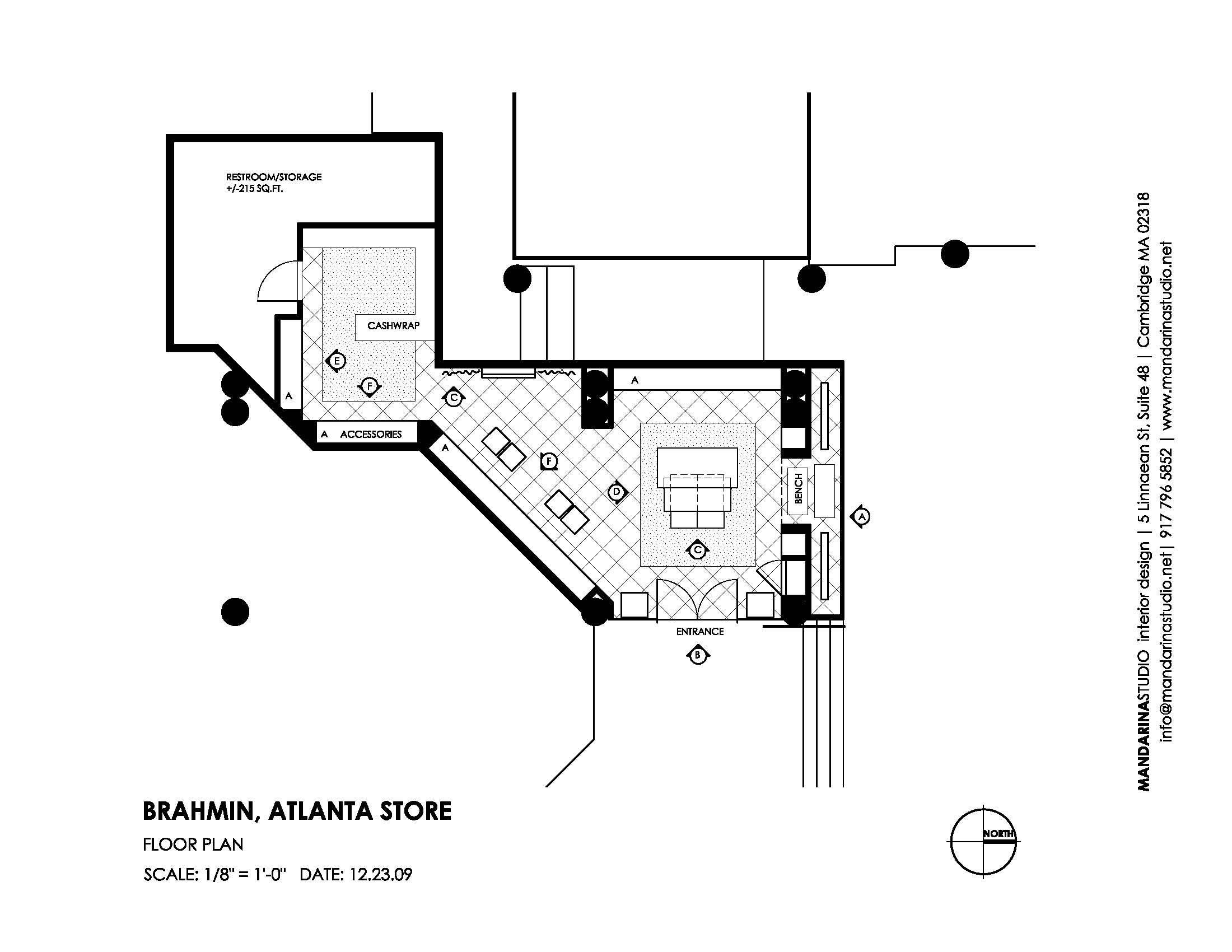 BRAHMIN Atlanta Floor Plan