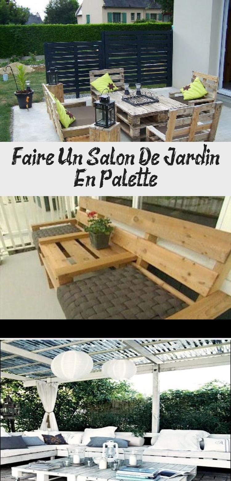 Faire Un Salon De Jardin En Palette Outdoor Furniture Sets