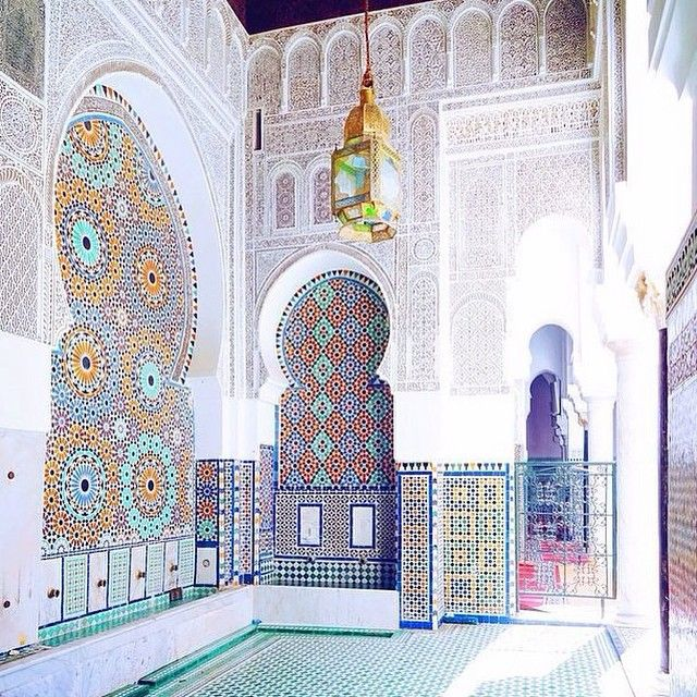 Morocco Moroccan Architecture Middle Eastern Islamic Tradition P
