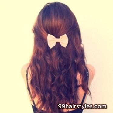 beautiful curly brown hairstyle idea - 99 Hairstyles Ideas