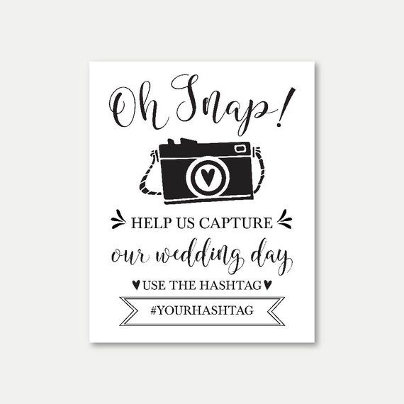 graphic relating to Wedding Sign Printable named Hashtag Indication Printable, Hashtag Marriage Indication Printable