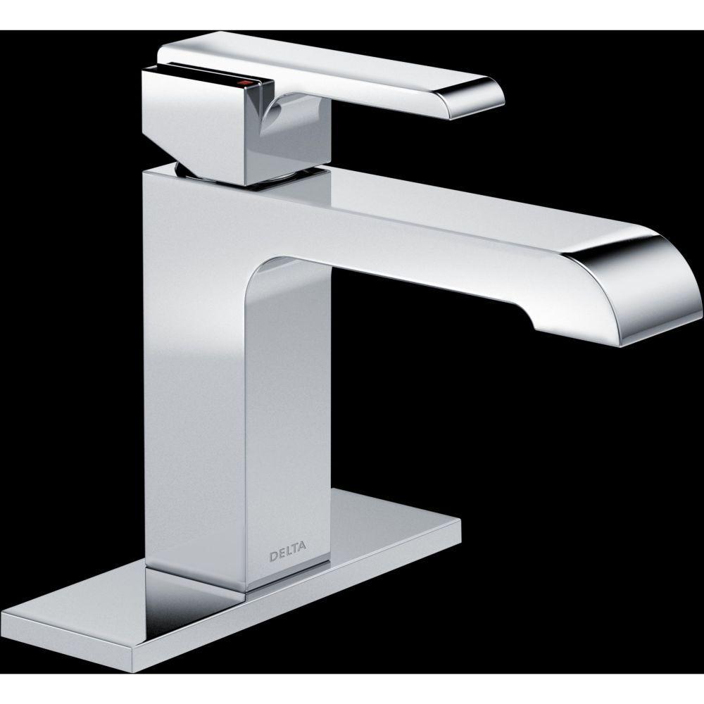 Delta Faucet 567LF-LPU Ara Polished Chrome One Handle Bathroom ...