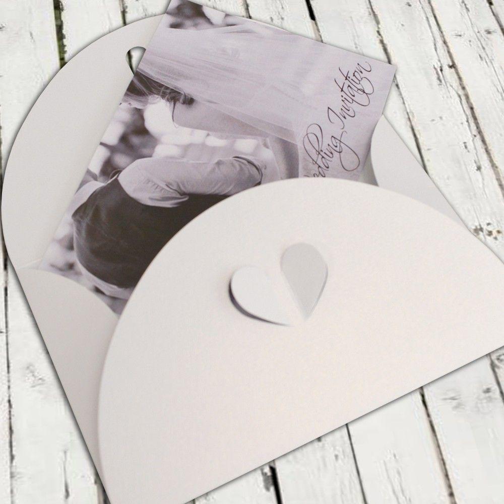 C7 White Butterfly Envelopes | Luxury Wedding Invitation Envelopes ...