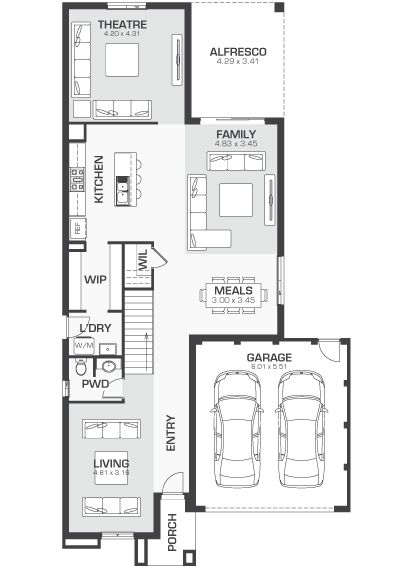 D Three Eight Homes House Plans Floor Plans Home
