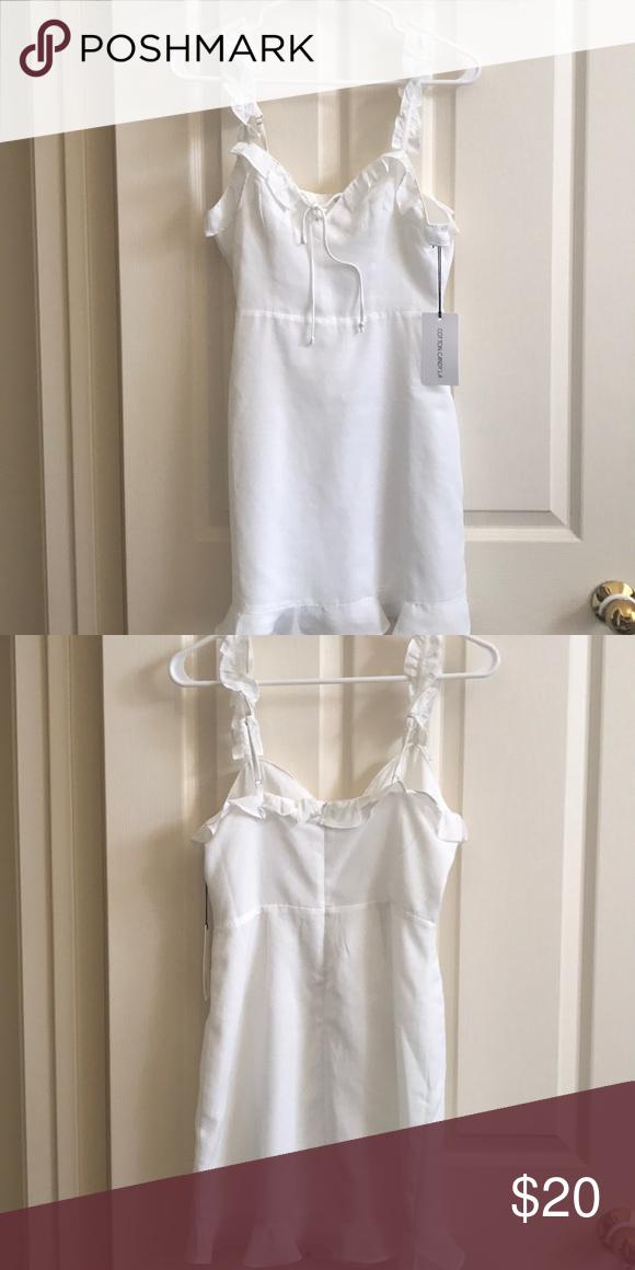 Cotton Candy La White Dress Cotton Candy La Cotton Candy Dress White Cotton Dress