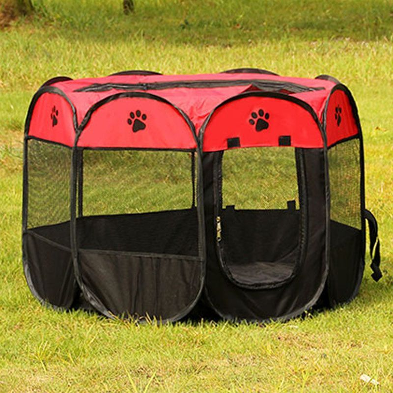 Exceptional Portable Folding Octagonal Pet Playpen For Small Dogs