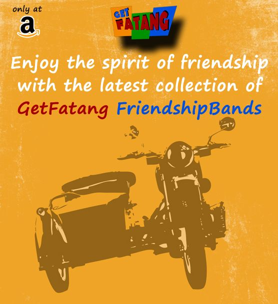 Enjoy the spirit of friendship with the latest collection of #GetFatang #FriendshipBands http://bit.ly/1undKXm