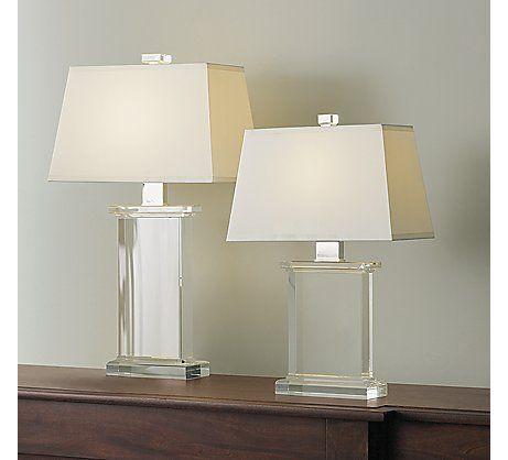 Elegant Crystal Pier Table Lamp From Restoration Hardware $335/$415