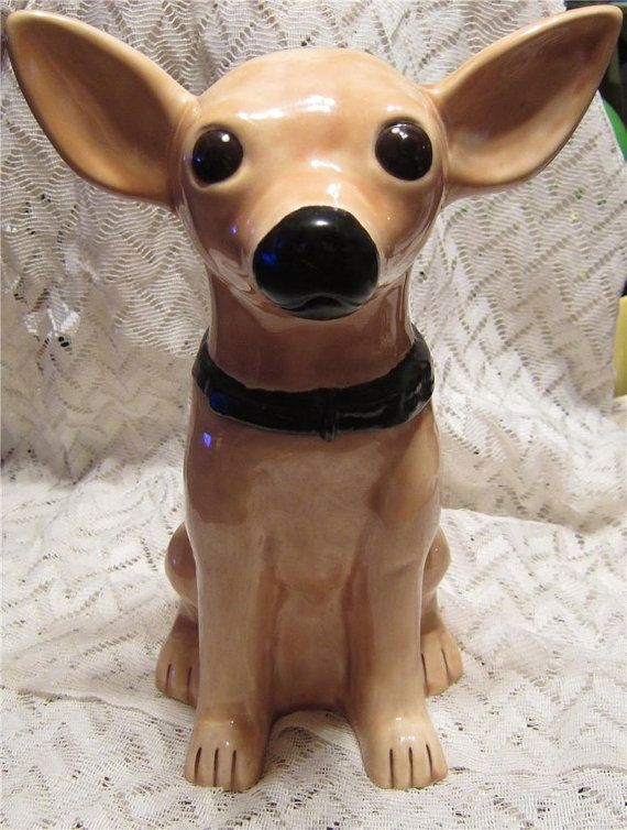 Chihuahua Cookie Jar Inspiration Pincarol Sue On Cookie Jar's For Fun  Pinterest  Cookie Jars