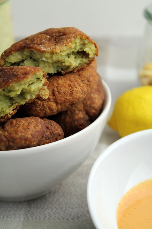 Donkey and the Carrot: CHICK PEA FRITTERS TO LOVE!