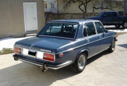 1973 BMW Bavaria 3.0S Sedan Rear