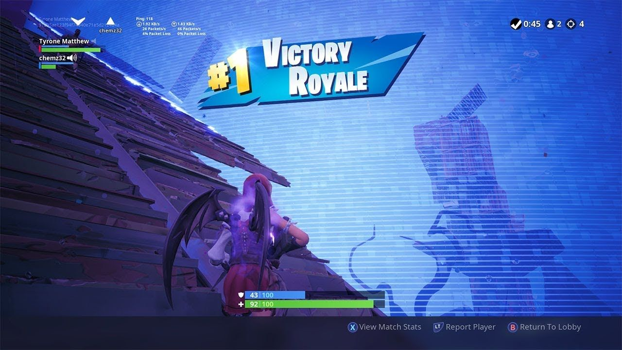 Pro Console Players Getting a 7 kill duo win in Fortnite | Fortnite