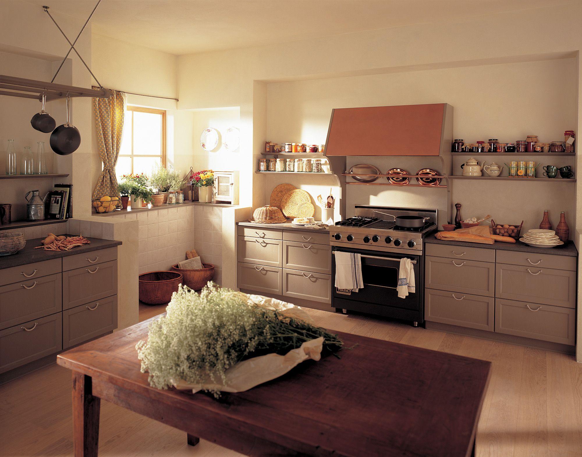 Küche | Landhausstil | Mattlack | gemütlich | heimelig | in ...