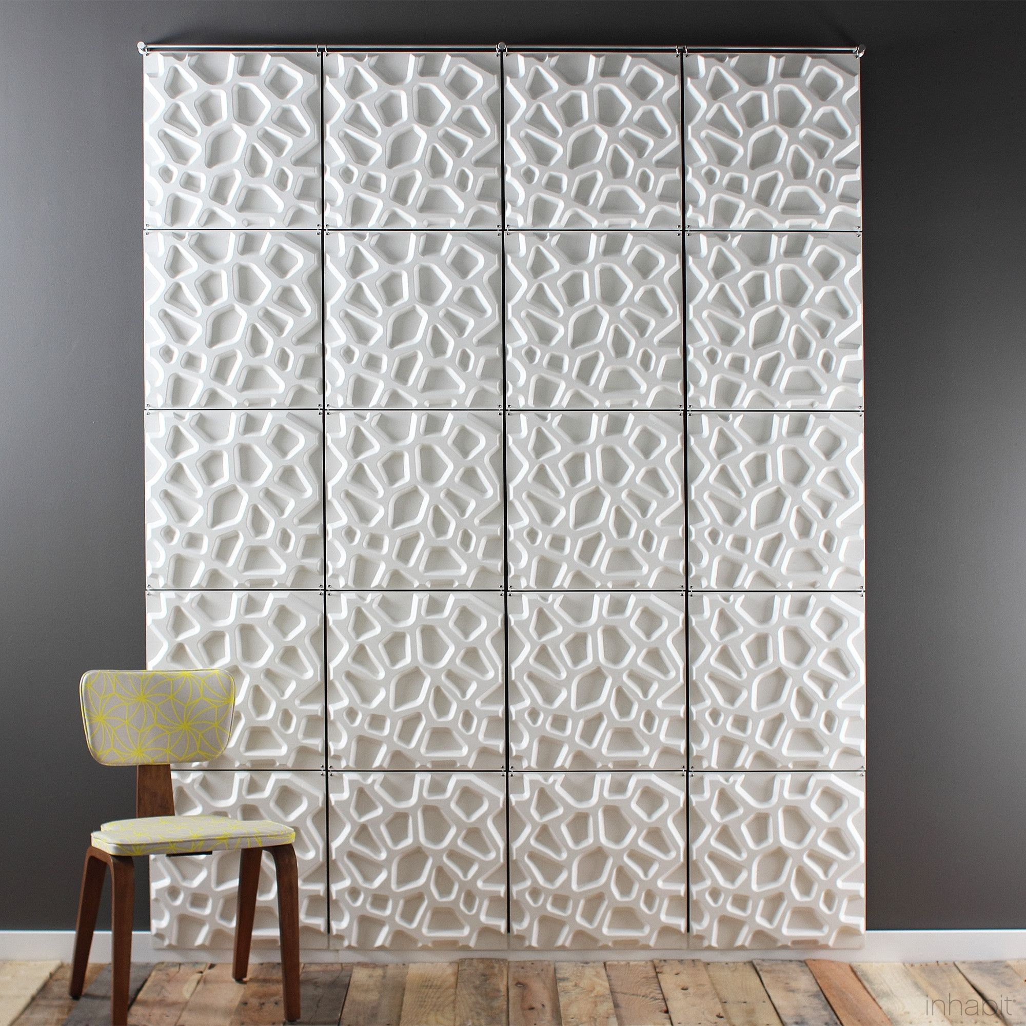 Modern Furnishings | 3D Wall Panels | Dimensional Walls | Hive Hanging Wall  Flats U2013 Inhabit Living