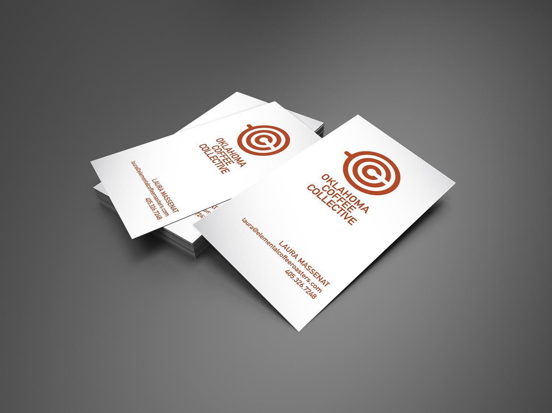 Oklahoma Coffee Collective Business Card Mockup
