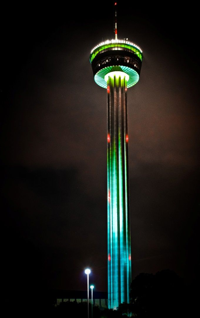 Located In Downtown San Antonio The 750 Foot Tall Tower