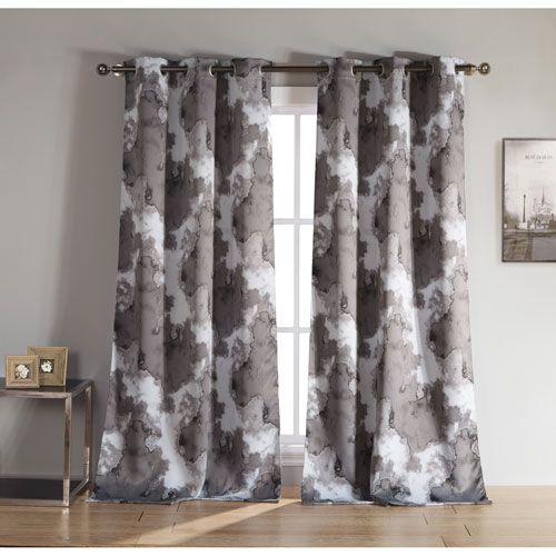 Kittalilly Grey 84 In X 54 Curtain Set