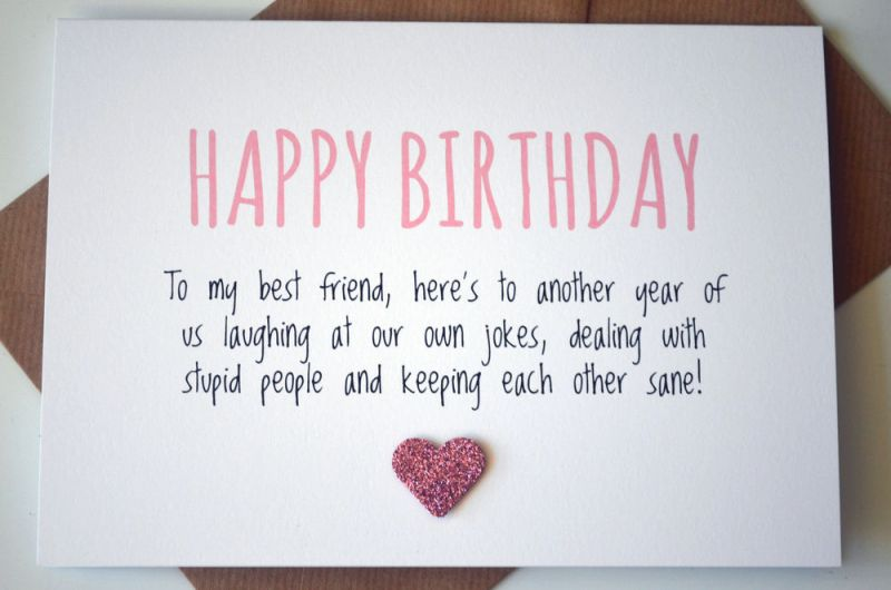 Image Result For Good Bff Birthday Cards Good Gifts Pinterest
